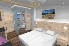 Visualisierung Doppelzimmer